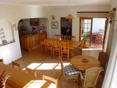 Acadia B&B, dining room, accommodation in Plettenberg Bay