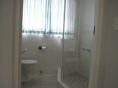 Acadia B&B Room 3 - Bathroom, accommodation in Plettenberg Bay, Garden Route, South Africa